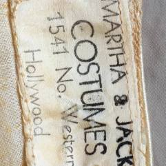 costume skirt label
