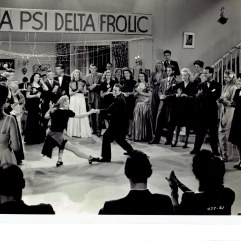 """Campus Rhythm"" 1943 publicity still at dance"