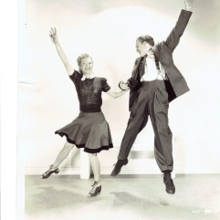 Genevieve Grazis and Johnny Duncan Publicity shot 1943